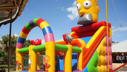 Simpsons Inflable